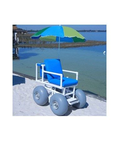 Healthline Rolleez 4 Wheeleez Pvc Beach Wheelchair Wheelchairs For Water Pinterest Chair And Cart