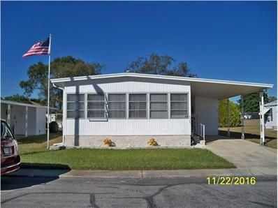 NEW FOR SALE: 4905 Plymouth Dr, Holiday, FL 34690 $69,500 - Move In Ready, Check out this professionally decorated 2 bedroom, 2 bath, double wide. Built in electric fireplace in the living room, to the tastefully decorated sitting room and den...well done! Home is partially furnish, call for your appointment to view this home located in a 55+ active community. — My Florida Regional MLS #: W7625008