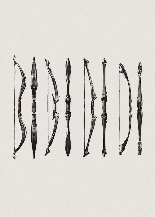 Elyshia, Silvyn, Cedric, Lena - the Bows of Velaura's heroes - A.R. Hanley