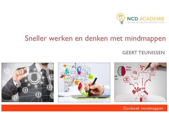 Het nieuwe gratis te downloaden dunboek van november staat klaar op www://ncdacademie.nl. Professioneel Mindmappen.