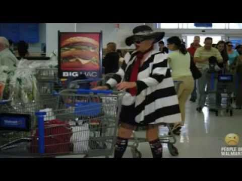 ▶ Only at Walmart - People of Walmart Song! - YouTube
