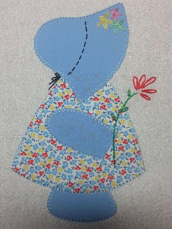 30's Reproduction Fabric Sunbonnet Sue Quilt Kit                                                                                                                                                      More                                                                                                                                                                                 More