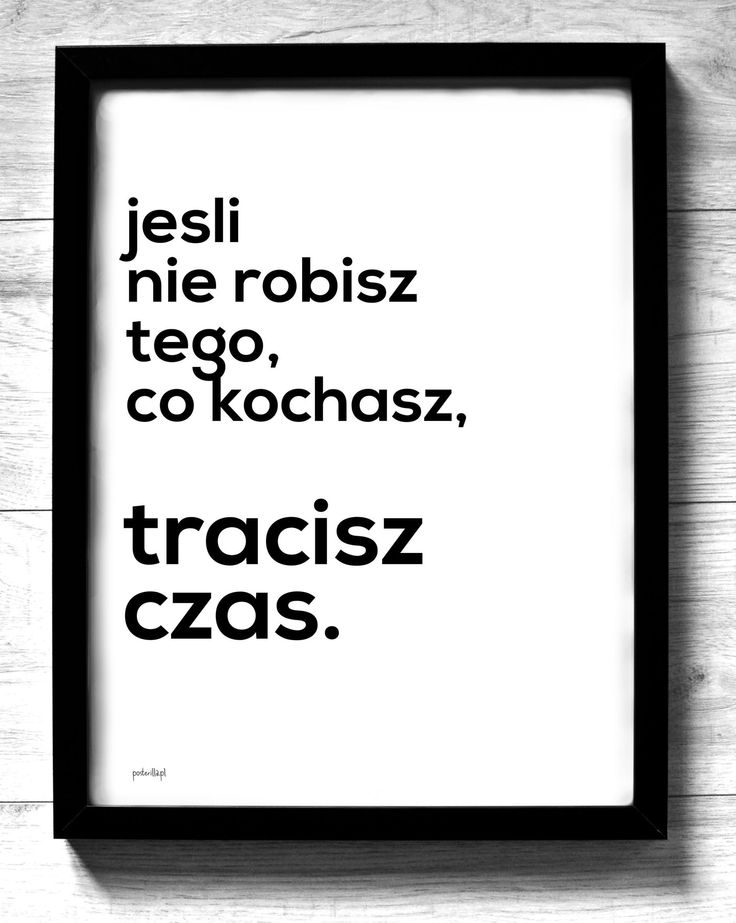 To, co kochasz
