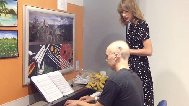 Taylor Swift Surprises Leukemia Patient And Covers Adele's 'Someone Like You' With Him