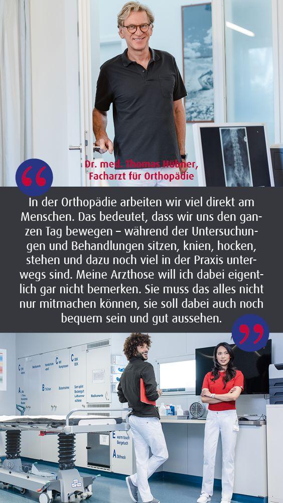 #workwear #berufsbekleidung #arzt #praxis #orthopädie