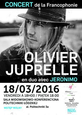 Olivier Juprelle w Łodzi! :)