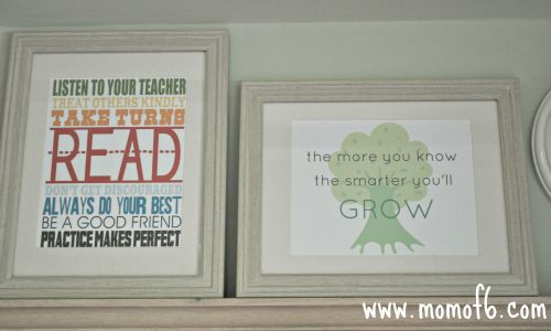 The 10 Best Free Back to School School Subway Art Printables!