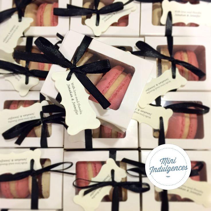 Mini Indulgences| Macarons Melbourne Wedding macaron favours