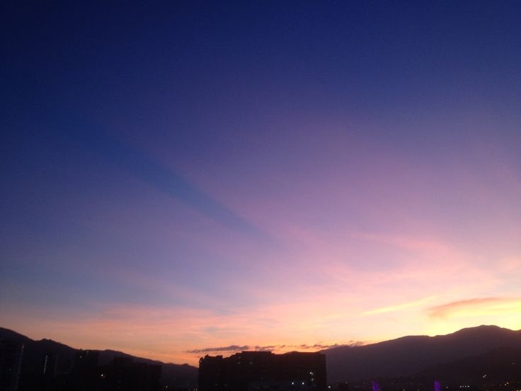 Sunset Medellin, Colombia