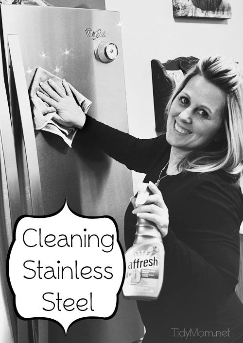 how to clean stainless steel appliances no streaks