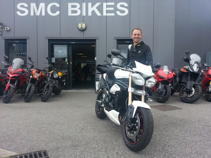 Thanks for your custom enjoy your new triumph 1050 thanks again Dave