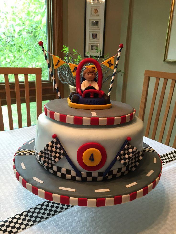 Jack's Go Kart 4Th Birthday Cake on Cake Central