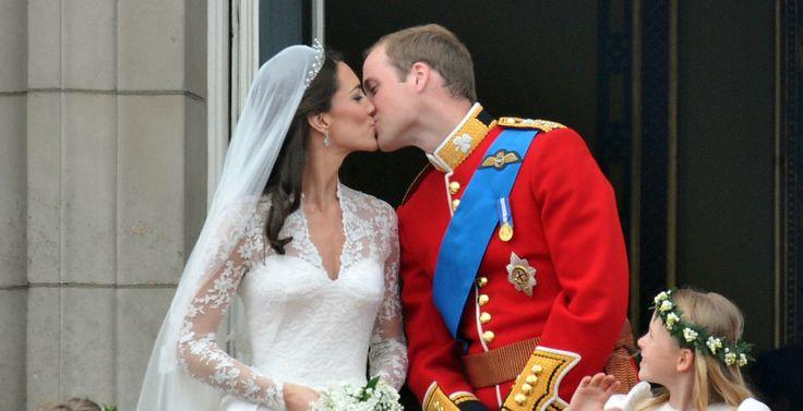 A 6 años de la boda, recordamos el esperado beso entre el Príncipe William y Kate Middleton