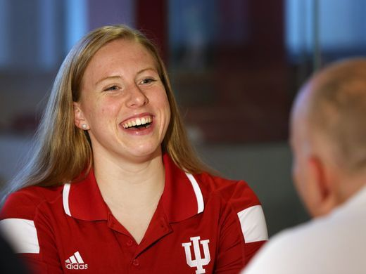Lilly King confident of Rio success: 'There are bigger medals to come'
