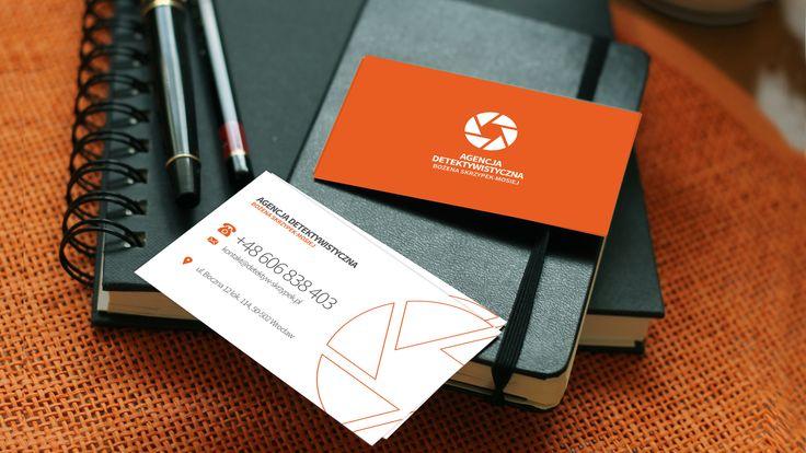 #logo dla agencji detektywistycznej #branding #detective http://imagency.pl/ff-portfolio/agencja-detektywistyczna/