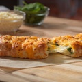 Stuffed Cheesy Bread with Spinach & Feta from Dominos!!! DELICIOUS!