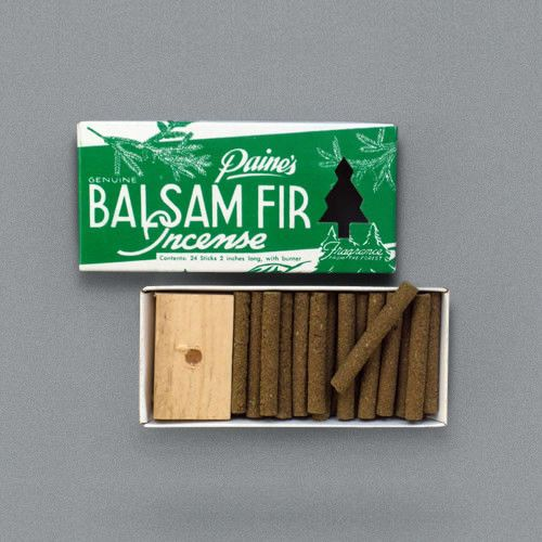 Balsam Fir Incense Sticks from Labour and Wait