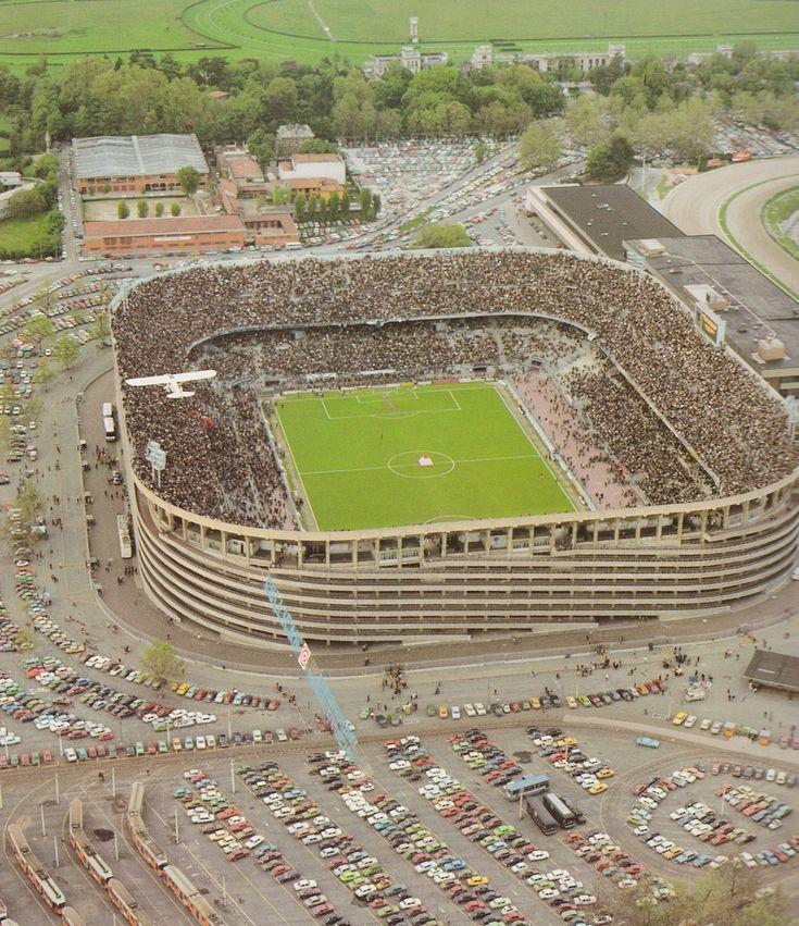 Stadio Calcistico San Siro; from 3.march 1980 named STADIO GIUSEPPE MEAZZA