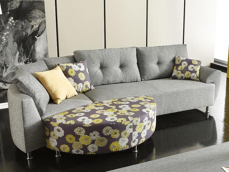 les 25 meilleures id es de la cat gorie canap d angle arrondi sur pinterest table basse ronde. Black Bedroom Furniture Sets. Home Design Ideas