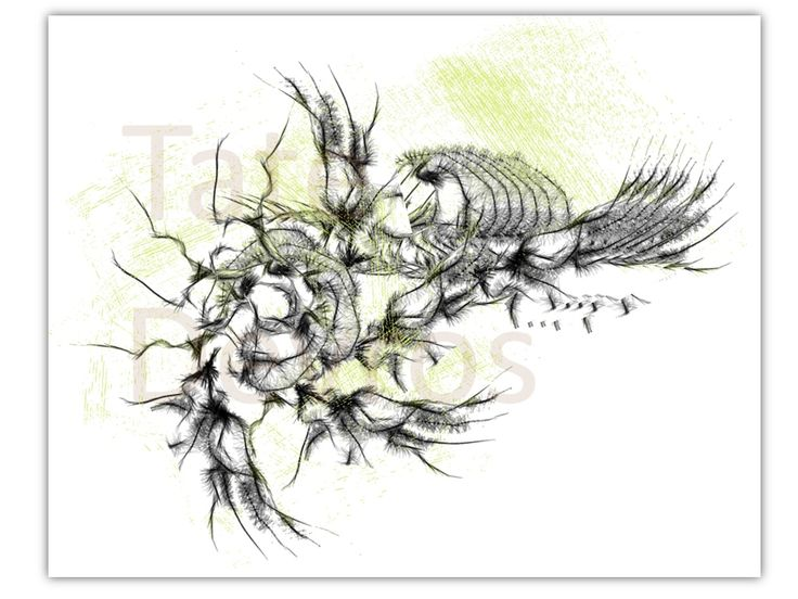 Tortoise Bones, ink paint sketch of many bones resting in a grave by Tate Devros.1024 x 768 pixels.PNg file type.Download your stunning art piece today.