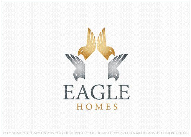 Eagle Homes Rea lEstate Logo For Sale