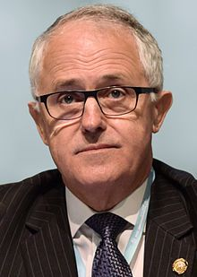 Malcolm Turnbull, 60 years old, is Australia's current (as of Sep 2015) and 29th prime minister. He has a bachelor of arts, law and civil laws. Before entering politics Turnbull was a journalist, lawyer, investment banker and venture capitalist until 1993 when he became the chair of the Australian Republic Movement.  He defeated Tony Abbott last month and became the new prime minister with a vote of 54 to Abbott's 44.
