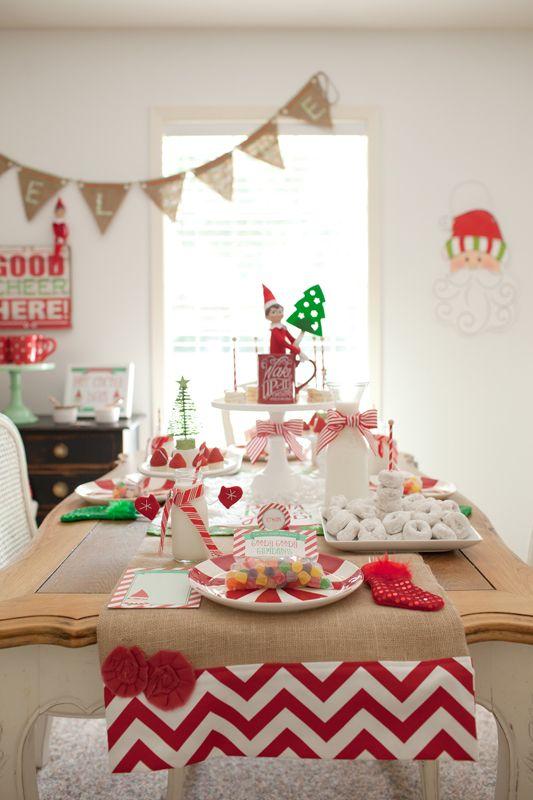 North Pole Breakfast with Elf on the Shelf » Hello Love Designs