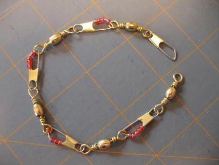 Snap Swivel Bracelet...  Just add beads!
