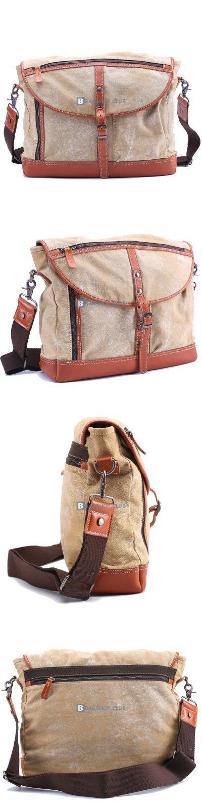 Messenger Bags For SchoolCanvas Shoulder Bag Men (3)