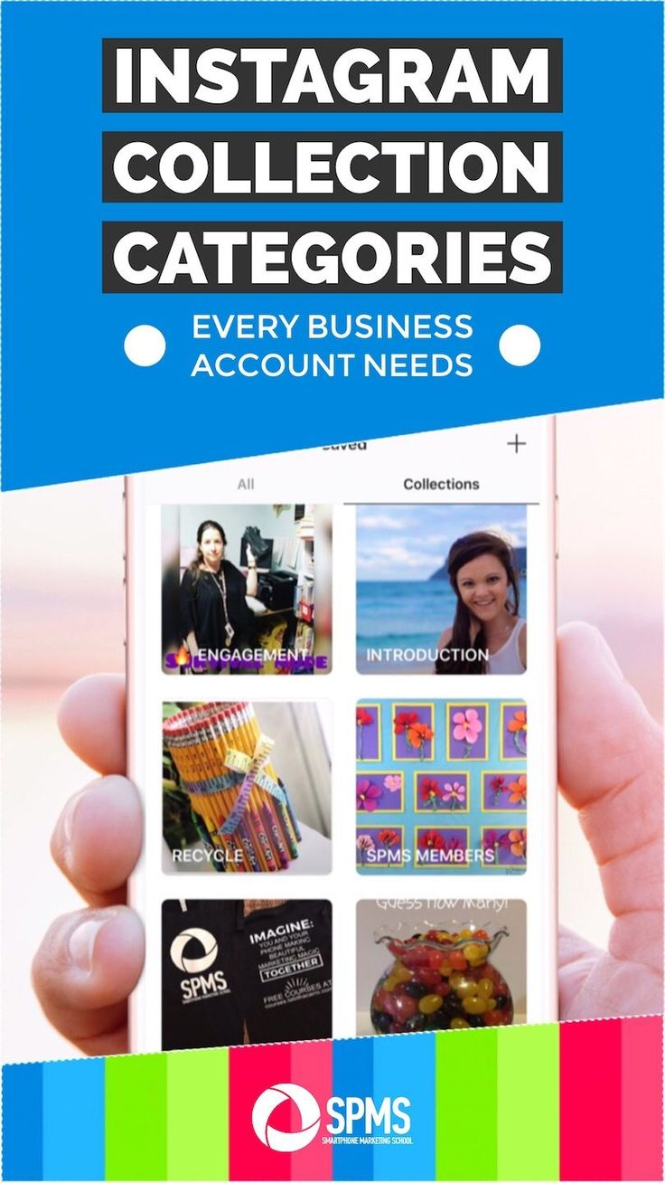 Have you tried out the Collections tools at Instagram? Learn how to organizing your bookmarks into categories can help your Instagram business account.