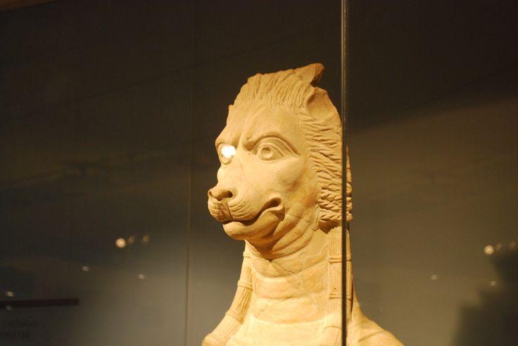 Carthaags beeld van de Egyptische godin Sekhmet.