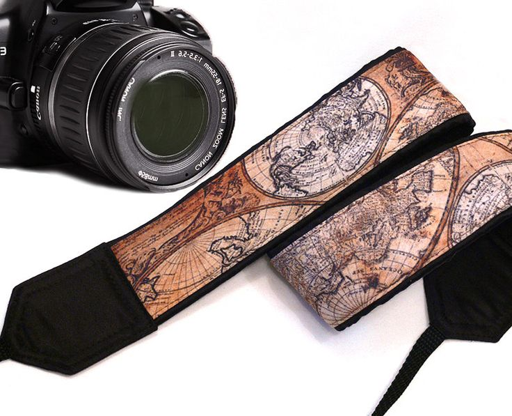 Map Camera Strap. Vintage Camera Strap.Photographer Gift. Brown Camera Strap. Accessories camera strap canon camera strap nikon camera strap dslr camera strap slr camera strap accessories women photographer gift accessories men vintage camera strap map camera strap accessories brown camera strap gift for men 35.00 USD #goriani