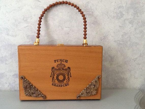 how to make a cigar box purse