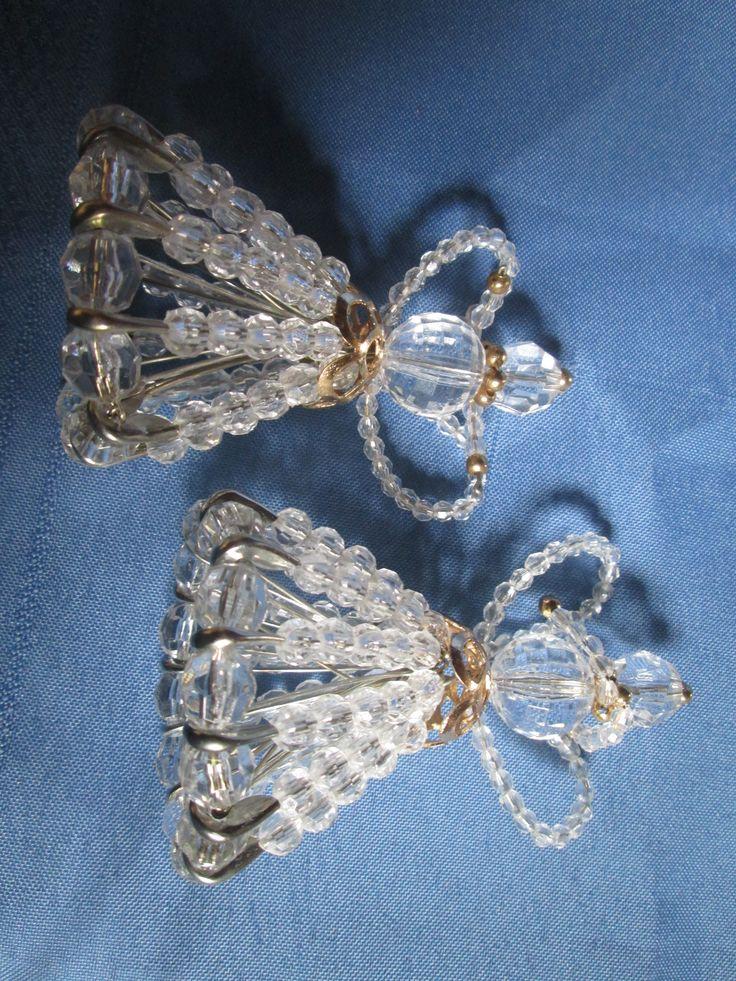 ángeles en perlas