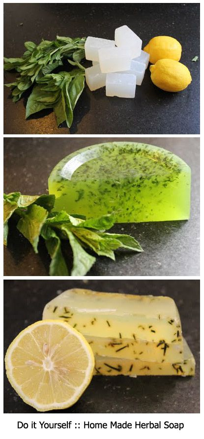 DIY - Home Made Herbal Soap Tutorial  ❥ http://pinterest.com/martablasco/