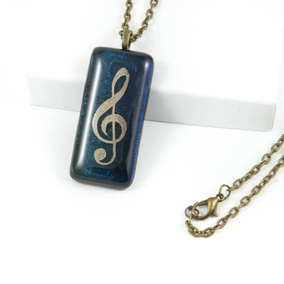 Xmas Ideas For Wife Part - 27: Music Necklace Xmas Gifts For Wife Music Gift For Women