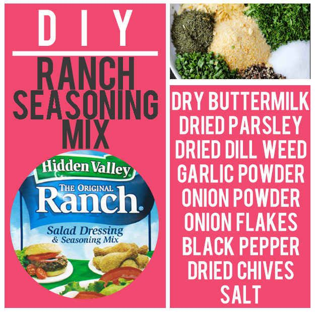 Rach Seasoning! • Ranch Dip • veggies • recipes  15 Boxed Food Mixes You'll Never Have To Buy Again