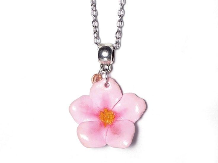 Tutoriel DIY: Faire un collier fleur de cerisier via DaWanda.com
