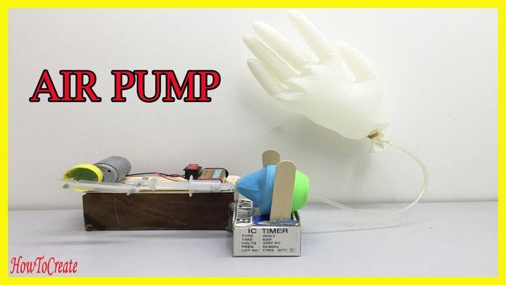 How to Make an Air Pump