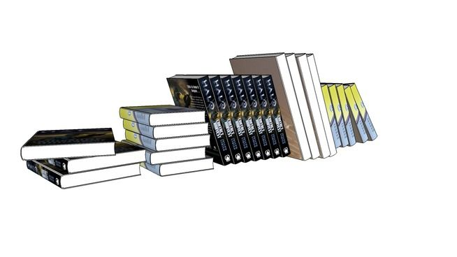 Livros_6 - 3D Warehouse