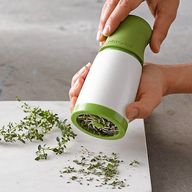 A fresh herb grinder. | 11 Affordable Kitchen Utensils That Will Change Your Life