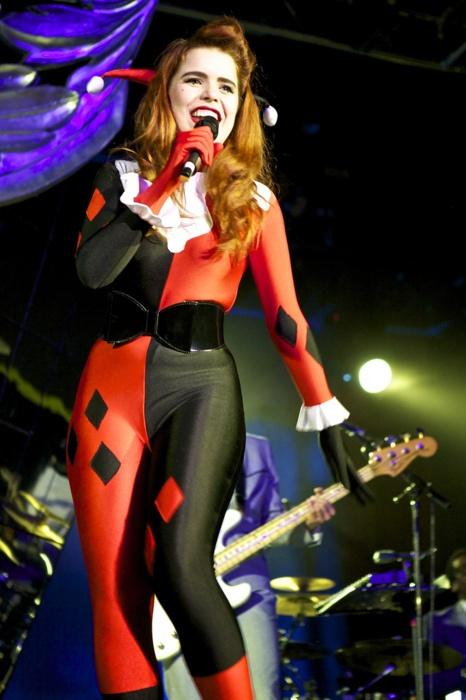 Miss Paloma Faith as Harley Quinn. Love them both!