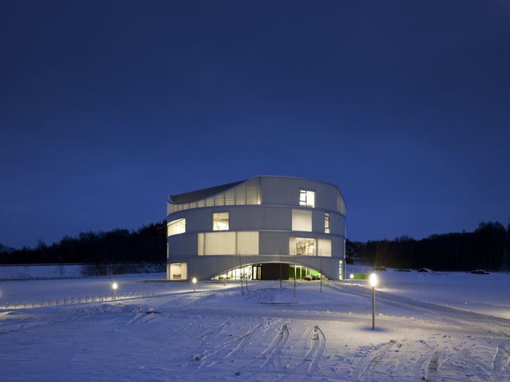 Gallery of Natural Science Center / NORD Architects - 7
