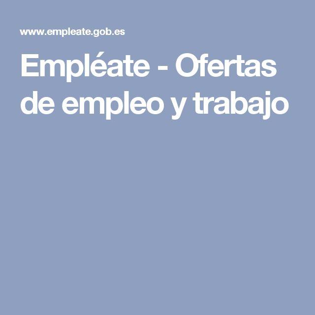Empléate - Ofertas de empleo y trabajo