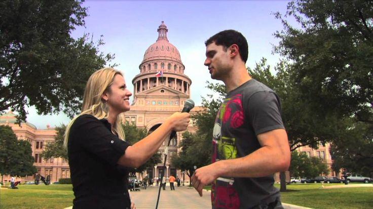 Flula Borg's Hilarious Austin, Texas Interview!