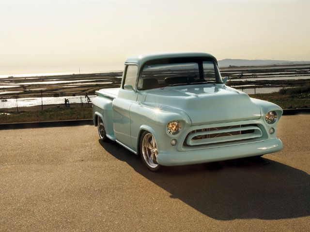 1957 Chevy Truck Front View Horizon