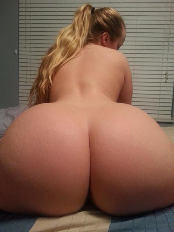 White thick naked ass