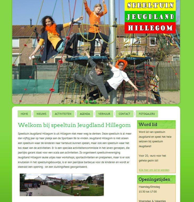 speeltuinjeugdland.nl create by wveen.com