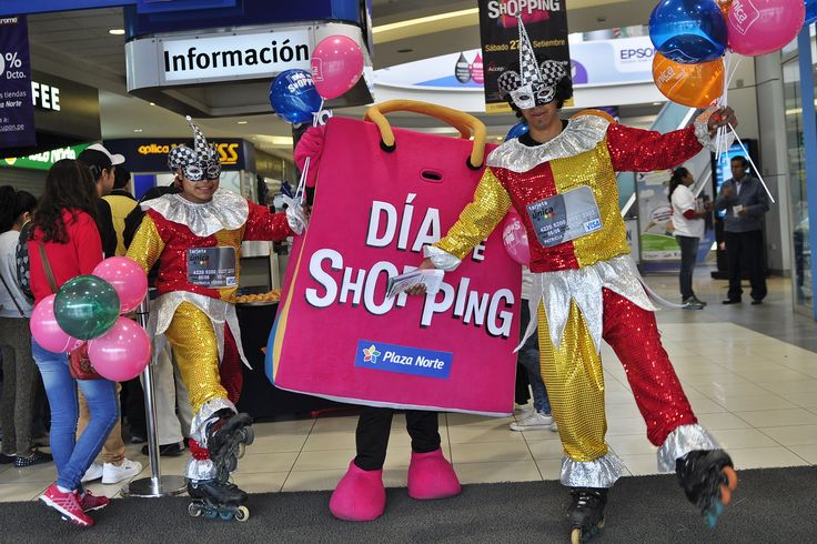 Plaza Norte y Mall del Sur invitan a celebrar el Día del Shopping. El Día del Shopping se festeja en todo el Perú y lo organiza la Asociación de Centros Comerciales y de Entretenimiento del Perú (Accep). Los operadores del centro comercial Plaza Norte y Mall del Sur participarán en el Día de Shopping -que se realizará este sábado 24 de setiembre- con descuentos de hasta el 70% en ambos centros comerciales.  Si deseas saber más, visita nuestra página