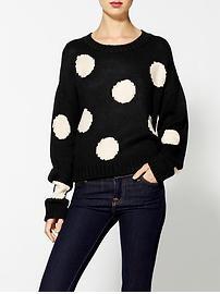 Dex Polka Dot Sweater